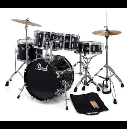 "Pearl Roadshow 18""-set - Jet Black"