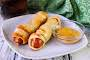 Crescent Wrapped Cheese Hot Dogs