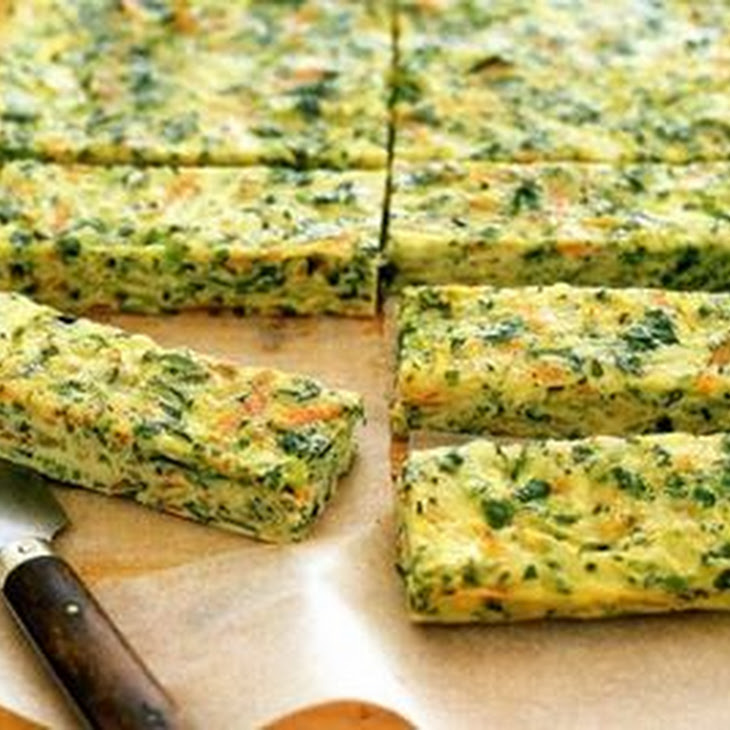 Zucchini and Carrot Bars Recipe