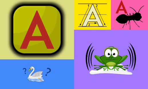 Match And Learn – alphabet games for kids, 5 in 1 - náhled