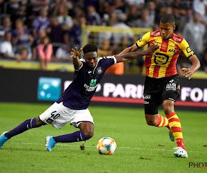 Le plus jeune sur le terrain lors d'Anderlecht-Malines, c'était lui