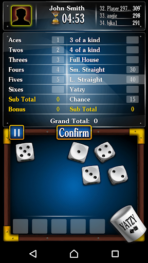 Yachty Dice Game ud83cudfb2 u2013 Yatzy Free 1.2.8 screenshots 3