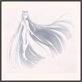 美女の霧髪