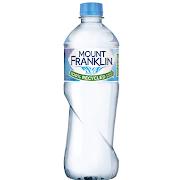 162. Mount Franklin Water