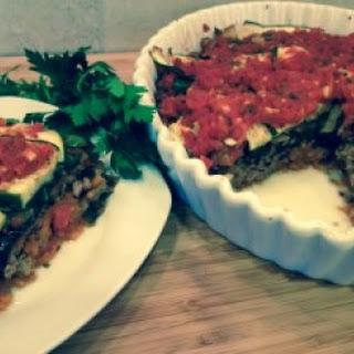 Hearty Vegetable Turkey Lasagna.