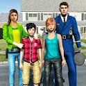 Virtual Police Dad Simulator : Happy Family Games icon