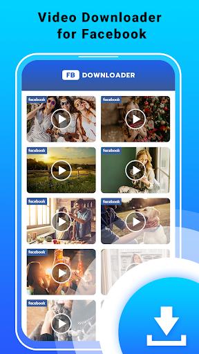Video Downloader for Facebook - FB HD Video Saver  screenshots 2