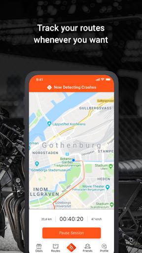 Detecht - Motorcycle GPS App screenshot 2