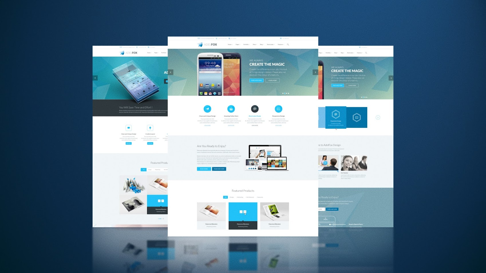 website presentation pack by 3uma videohive