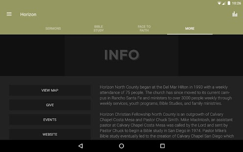 Horizon Christian Fellowship- screenshot thumbnail