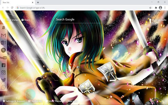 Attack on Titan Mikasa Wallpaper Anime