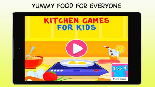 Kitchen Games - Fun Kids Cooking & Tasty Recipes 1.0 screenshots 13