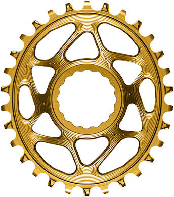 Absolute Black Oval Narrow-Wide Direct Mount Chainring - CINCH Direct Mount, 3mm Offset, Colored  alternate image 7