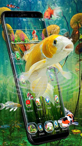 3D Aquarium Japaneses  Koi Fish for PC