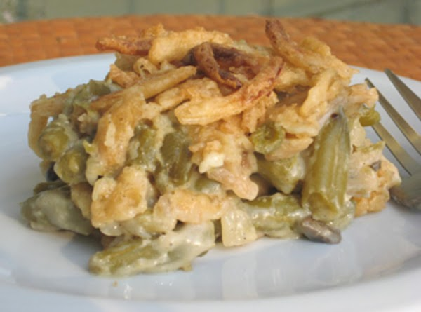 Not Your Momma's Green Been Casserole!! Recipe