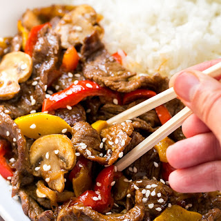 Beef Stir-Fry Recipe with 3 Ingredient Sauce