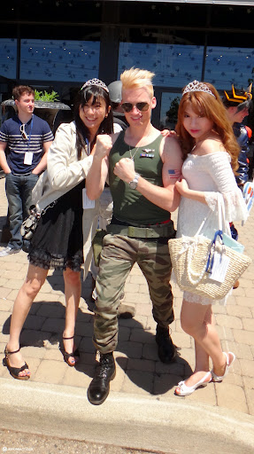 GUILE fans at anime north 2013 in Toronto, Ontario, Canada