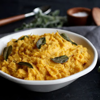 Cauliflower Butternut Squash Mash with Sage Recipe