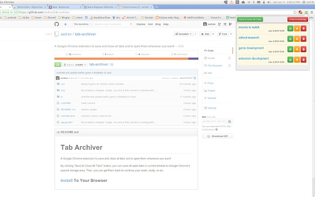 Tab Archiver