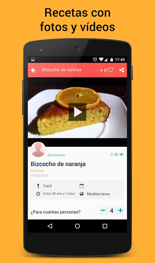 Que cocino hoy? Recetas cocina- screenshot