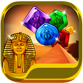 Pyramid Jewels and Gems : Ancient Magic Gem Match