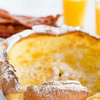 Dutch Baby Pancake.