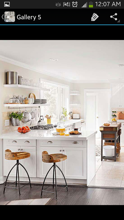 White kitchen cabinets android apps on google play for Kitchen cabinet app