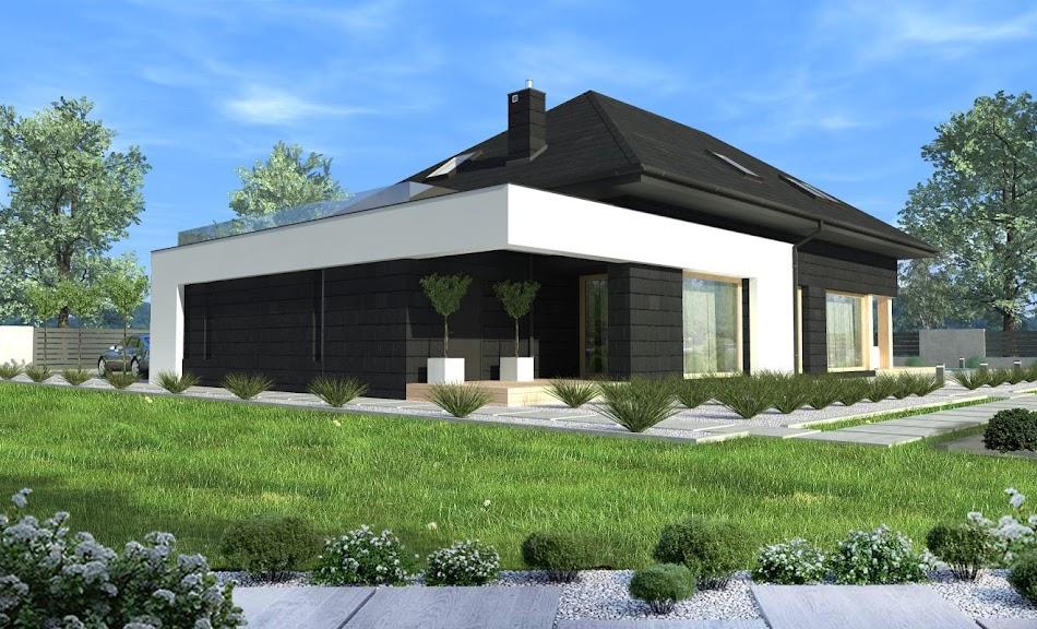 Wizualizacja projektu tygodnia - New House 9 (TIK-254)
