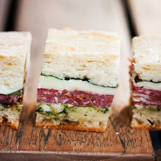 Pressed Picnic Sandwiches.