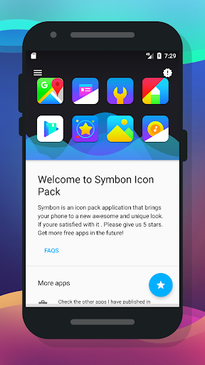 Symbon Icon Pack app for Android screenshot