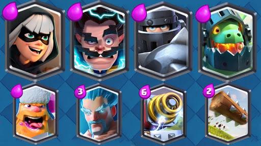 Pogodi Clash Royale karticu screenshot 7