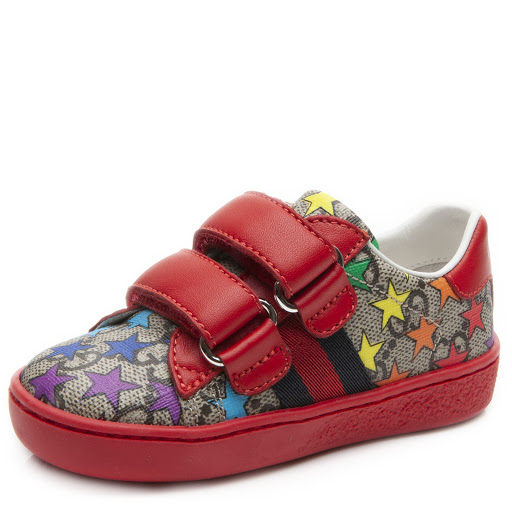 Thumbnail images of Gucci Toddler Rainbow Star Trainer