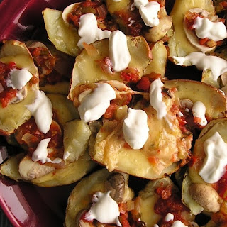 Irish (Potato Skin) Nachos