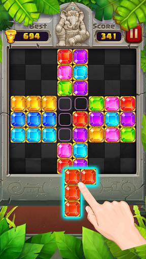 Block Puzzle u2013 Jewel Games in Temple 1.2.0 screenshots 1