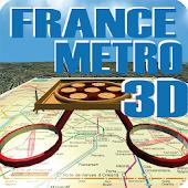 FRANCE METRO 3D