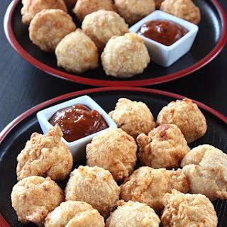 Bakso Goreng Ayam - Fried Chicken Meatballs.