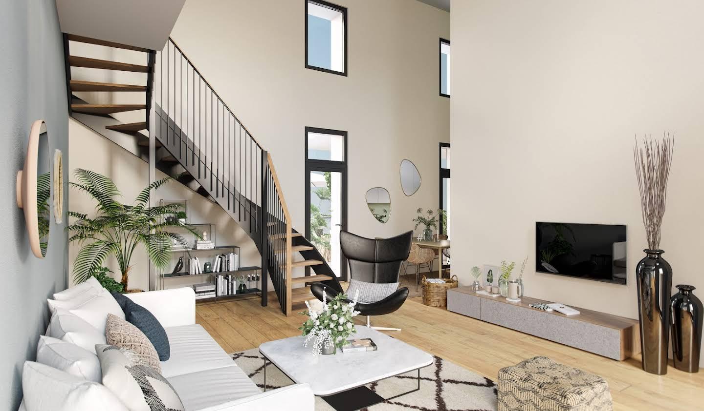 Appartement contemporain avec terrasse en bord de mer La baule