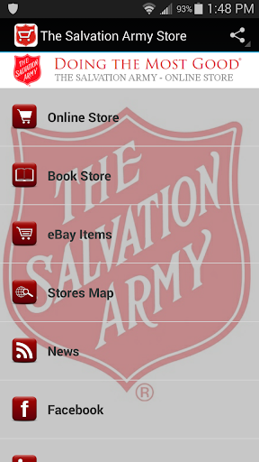 Salvation Army Online Store