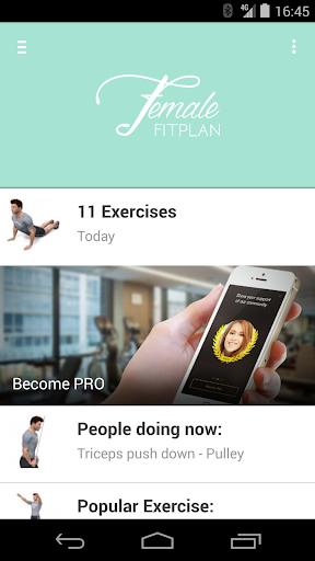 玩免費健康APP|下載Female Fitplan app不用錢|硬是要APP