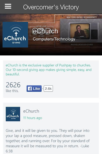 Overcomer's Victory Church