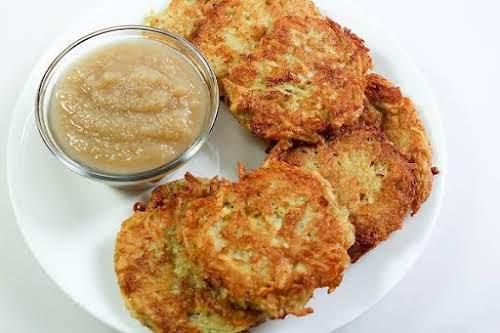 "Quinoa and Potato Latkes ""Very good. The combination of quinoa and potato..."