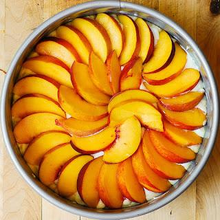 Peach Cake With Cream Cheese Recipes