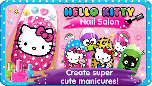 Hello Kitty Nail Salon screenshot 1