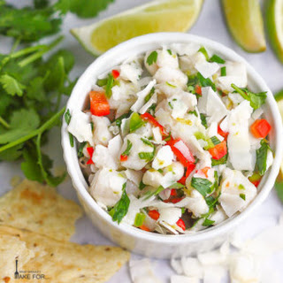 Coconut Lime Ceviche.