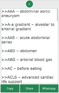 Complete Medical Abbreviations screenshot 2
