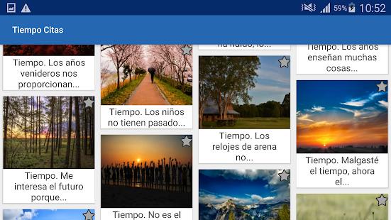 Download Tiempo Citas y frases famosas For PC Windows and Mac apk screenshot 8
