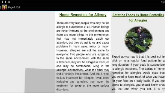 Home Remedy for Allergy - náhled