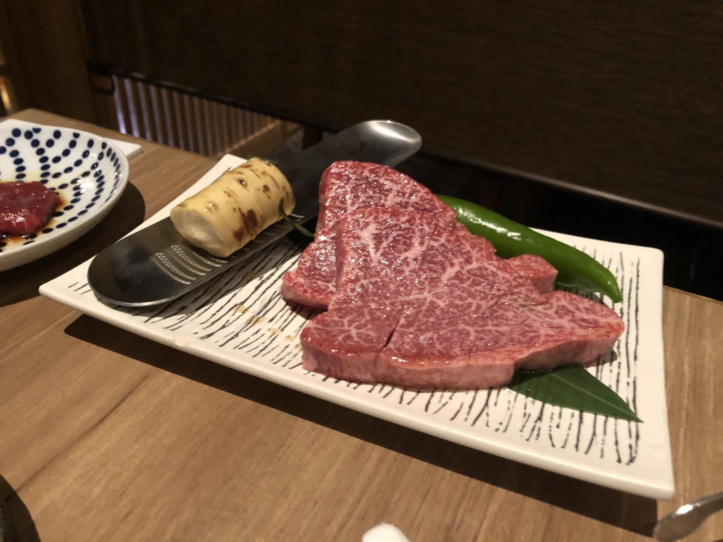 土曜日だから焼き肉を食べよう