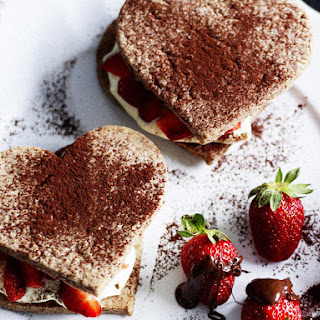 Chocolate-Berry Shortcakes