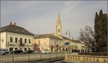 Photo: Turda - Piata Republicii, vedere din Piata 1 Decembrie 1918 - 2019.03.01- 2019.03.01